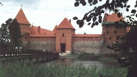 Castle in Trakai/Lithuania