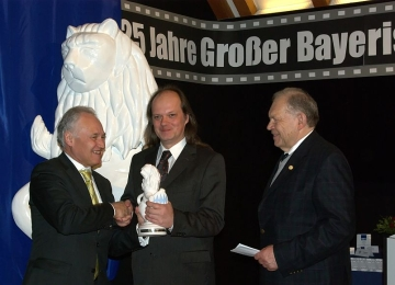 Great Bavarian Lion handed by State Minister a.D. Erwin Huber